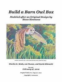 Build A Barn Owl Box